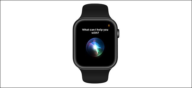 معاينة الصورة تظهر تنشيط Siri على ساعة آبل