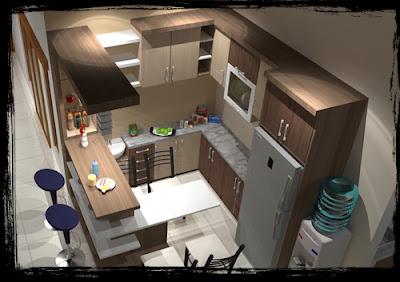 Harga kitchen set kediri, kitchen set minimalis di kediri