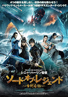 Legend of the Ancient Sword 2018 Hindi Dubbed 720p HDRip