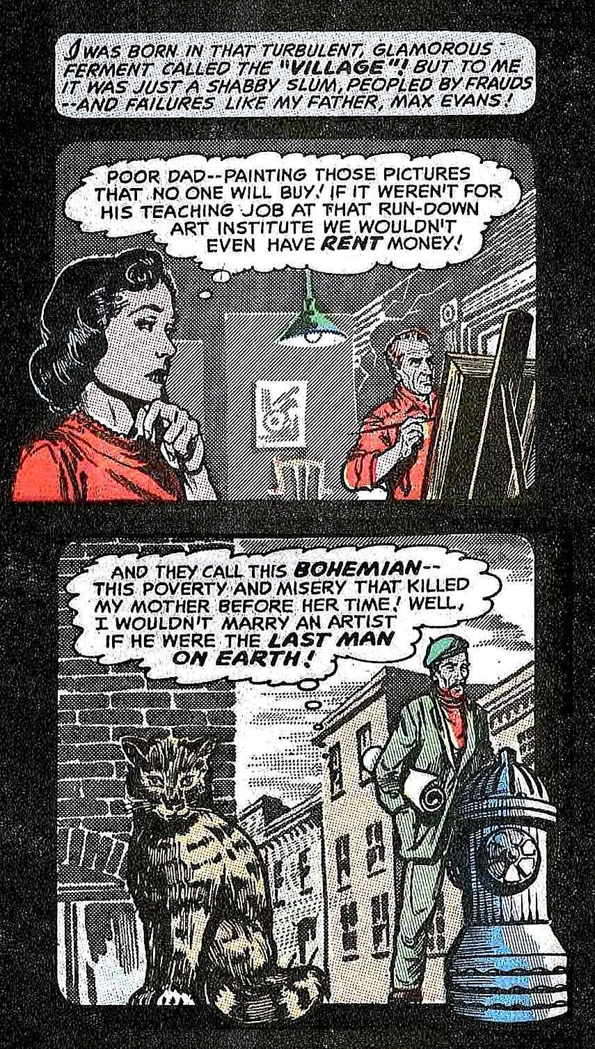 starving artist comic