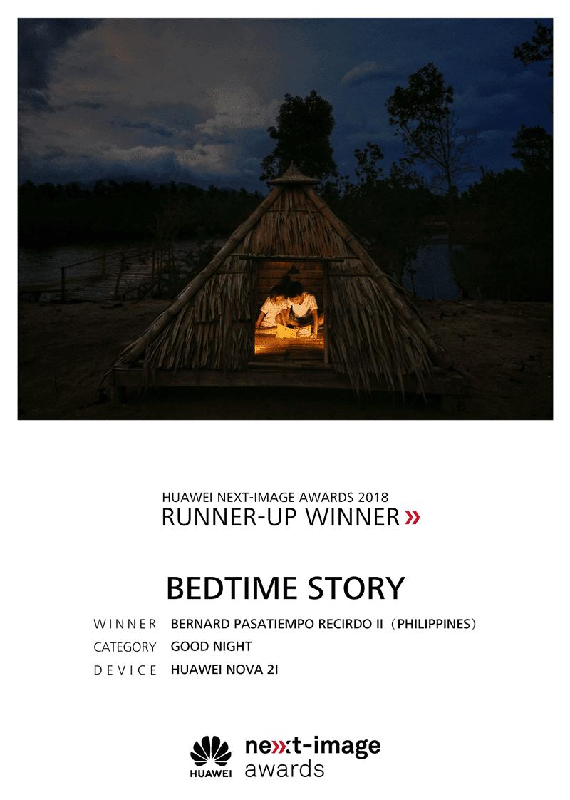 Bedtime Story by Bernard Pasatiempo Recirdo II