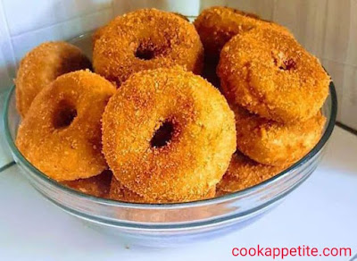 If you are a fan of doughnuts then this sweet potato donut will melt your heart.You can't beat the texture and flavor of this  doughnut.  This recipe is easy to make, make it one time and it will become your favorite treat.