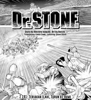 Update! Baca Manga Dr. Stone Chapter 191 Full Sub Indo