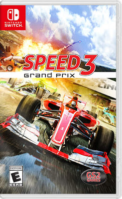 Speed 3 Grand Prix Game Cover Nintendo Switch