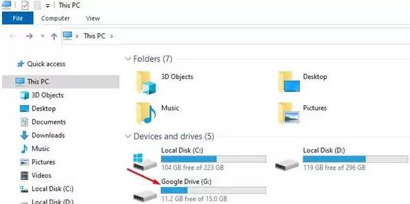 Cara Menambahkan Google Drive ke File Explorer di PC Windows 10-4