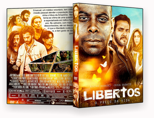 CAPA DVD – LIBERTOS O PRECO DA VIDA DVD-R 2018
