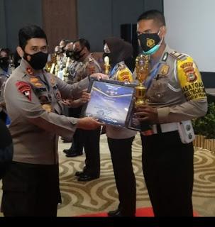 Satlantas Polres Gowa Sabet 3 Gelar Juara Sekaligus di Ajang Lomba HUT Lalu Lintas Bhayangkara ke 65