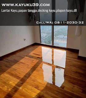 flooring jati Jakarta