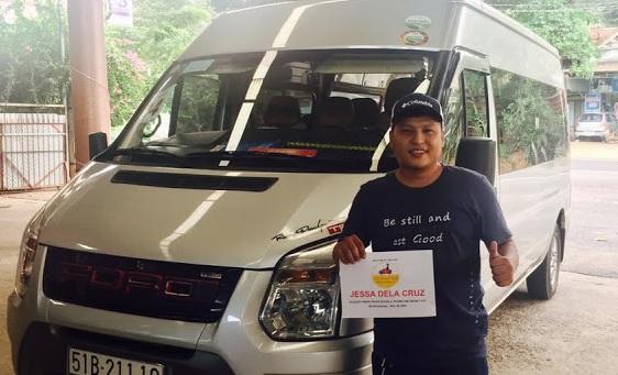 Cho thue xe du lich 16 cho Ho Chi Minh