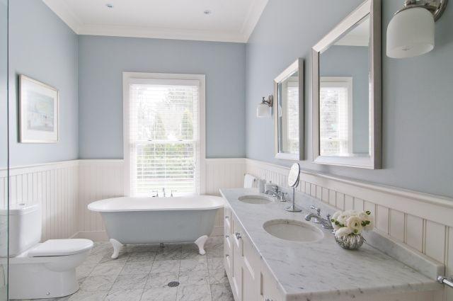 gray bathrooms with wainscoting. bathroom shiplap wainscoting,