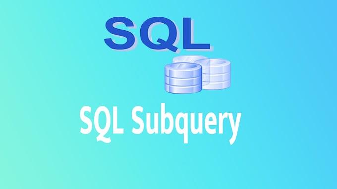 SQL Subquery