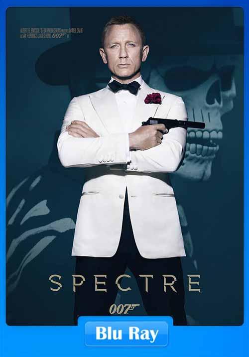 Spectre 2015 BRRip HEVC 200MB x265 Poster