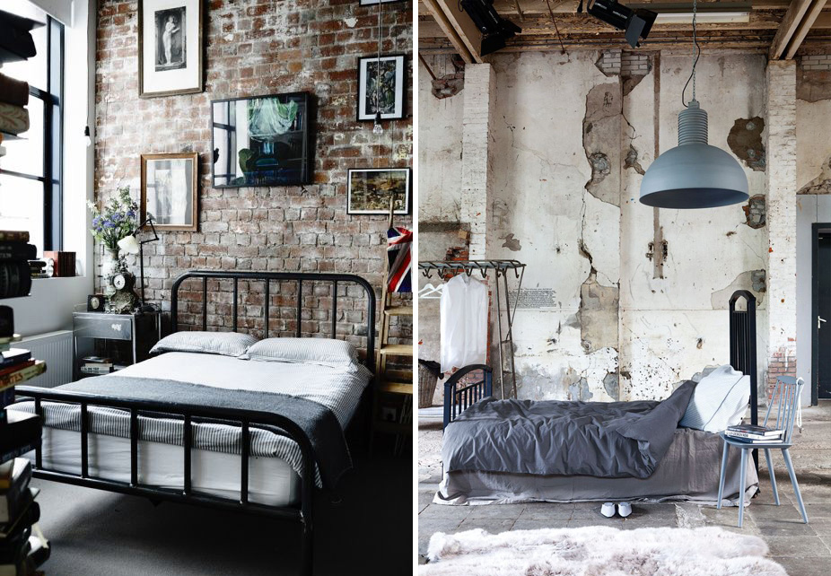 Una parete di mattoni shabby chic interiors - Parete shabby chic ...