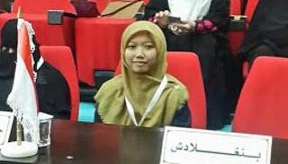 Rifdah Farnidah, Juara Kedua Musabaqoh Hifdzil Qur'an Internasional Asal Sunda