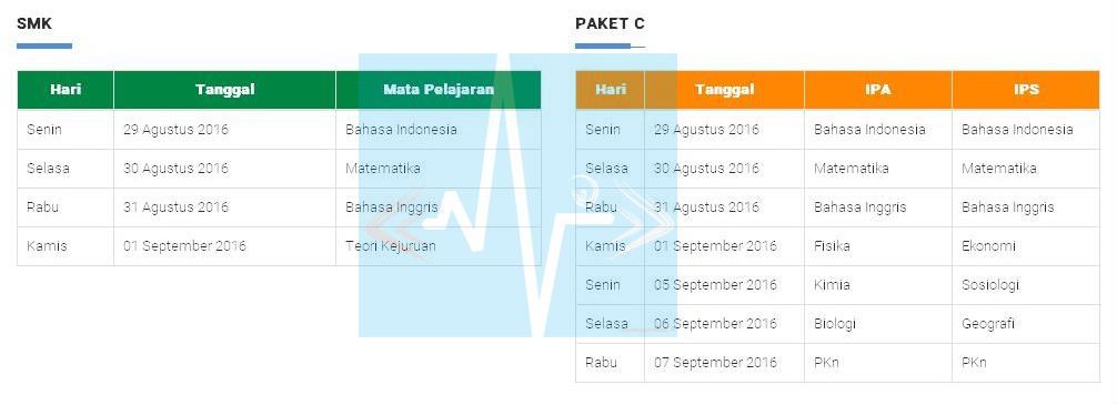 Jadwal Ujian Nasional Paket B Jadwal Un Ujian Nasional 2015 Berita Terbaru Jadwal Ujian
