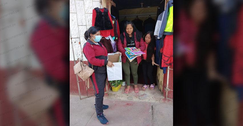 Docentes de inicial del distrito de San Pedro de Cachora en Apurímac, realizan campaña de recolección de textos infantiles denominado «regalame un libro»