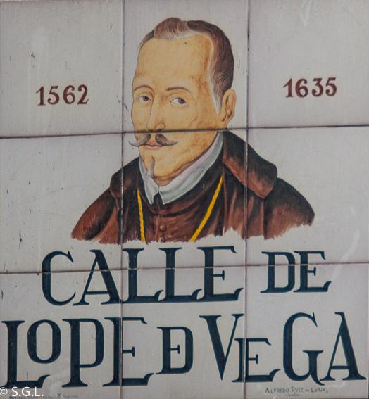 Azulejo calle Lope de Vega. Redescubre Madrid