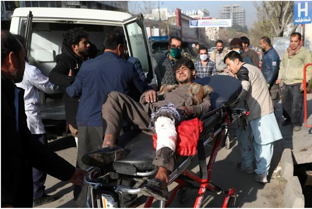 Dreadful ISIS fires 23 rockets into Afghan Capital Killing 3 and Wounding 11
