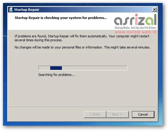 Solusi Gagal Booting Pada Windows 7 All Version