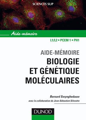 """[[PDF]] """"Livre Biologie"""": Aide-Mémoire Biologie Et Génétique Moléculaire, Télécharger Gratuitement"""