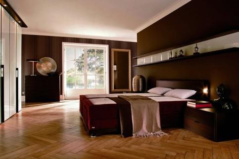 Dormitorios modernos color marr n ideas para decorar dormitorios - Habitacion marron ...