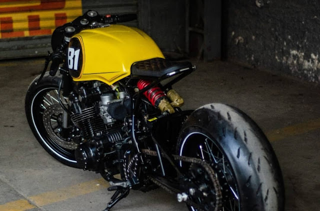 Honda CB750 By Lucky Custom Hell Kustom