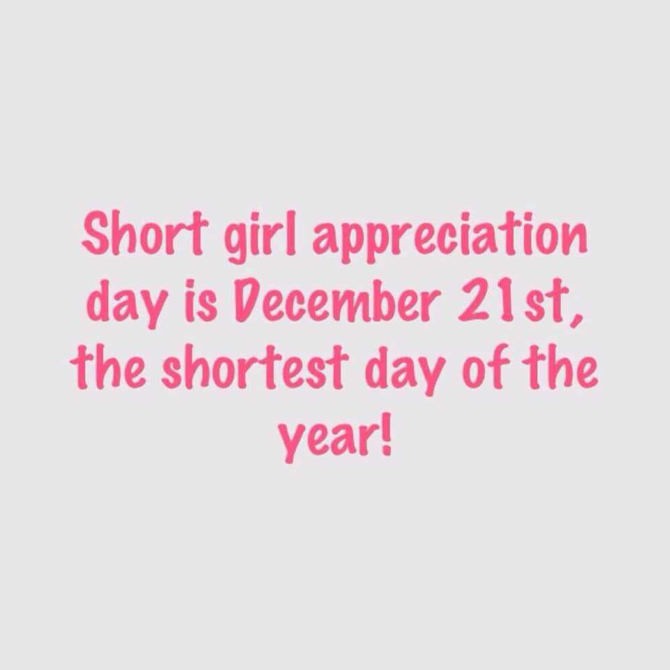 National Short Girl Appreciation Day Wishes Awesome Images, Pictures, Photos, Wallpapers