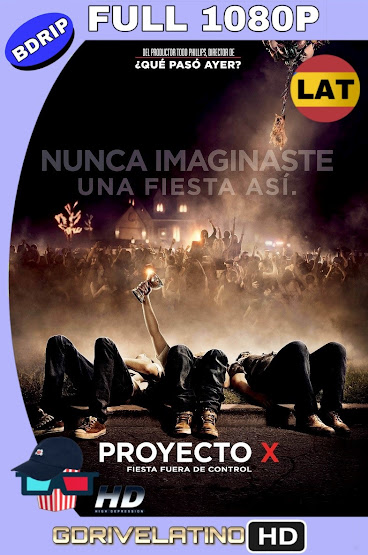 Proyecto X (2012) EXTENDED BDRip 1080p Latino-Ingles MKV