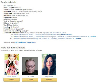Amazon listing for the Kindle version