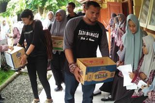 Wartawan Mojokerto Galang Dana untuk Korban Banjir Pacitan