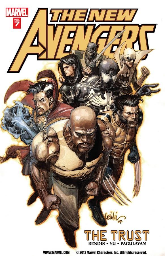 new avengers trust marvel comics brian michael bendis leinil francis yu