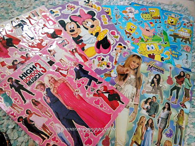sticker kanak-kanak