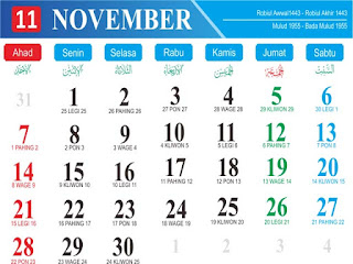 Lagi Tren Template Kalender 2021 Png | Ideku Unik