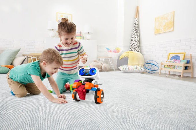 Kids' First Introduction To Coding With Kinderbot, A Robot Friend