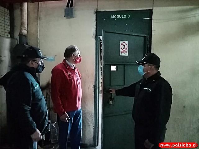 Seremi de Justicia y DDHH realiza visita inspectiva a cárcel de Osorno