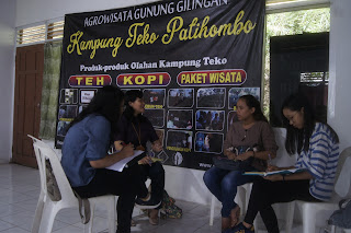 Kampung Teko Patihombo : English for Communication session 1 selesai