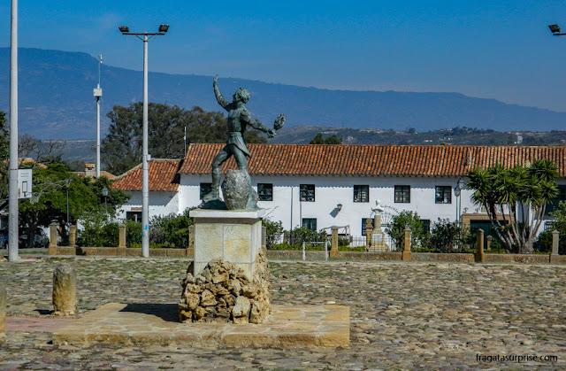 Monumento a Antonio Ricaurte, Villa de Leyva, Colômbia