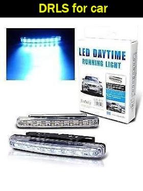 Bright Car DRLs 8 LED Super White Bright Light