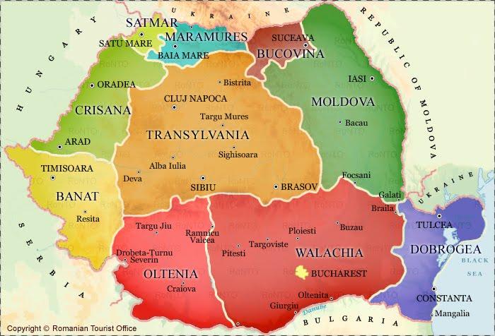 Map Of Transylvania Things about Transylvania, Romania: Maps of Transylvania Map Of Transylvania