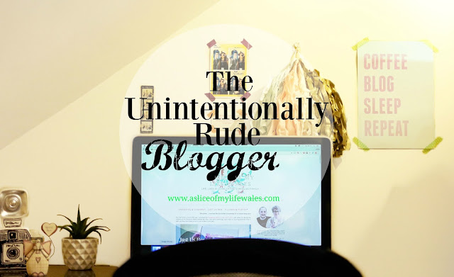The unintentionally rude blogger - I'm a blogger who doesn't reply to comments - I'm not being rude, I just don't have the time .