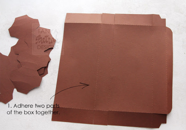 paper chocolade bar