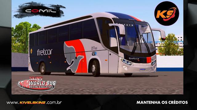 COMIL 1200 4X2 - VIAÇÃO FRETCAR