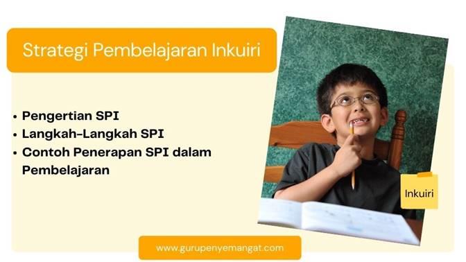 Strategi Pembelajaran Inkuiri (SPI) Pengertian, Langkah-langkah, dan Contoh Penerapannya