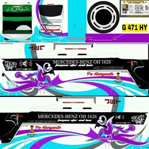 Livery SHD Haryanto Biasa 3 Bussid