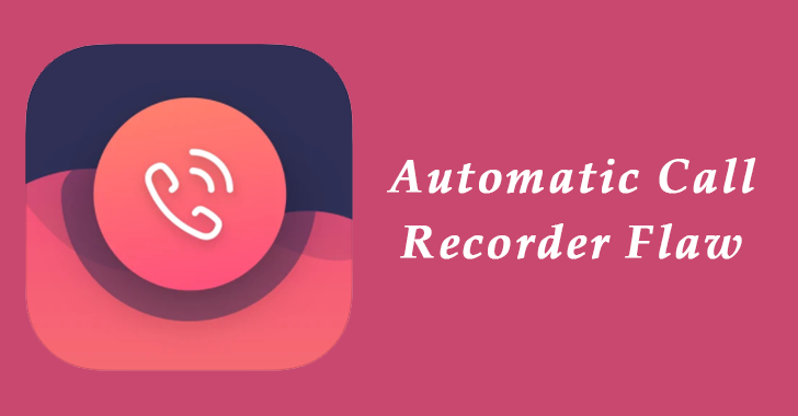 Automatic call recorder Flaw