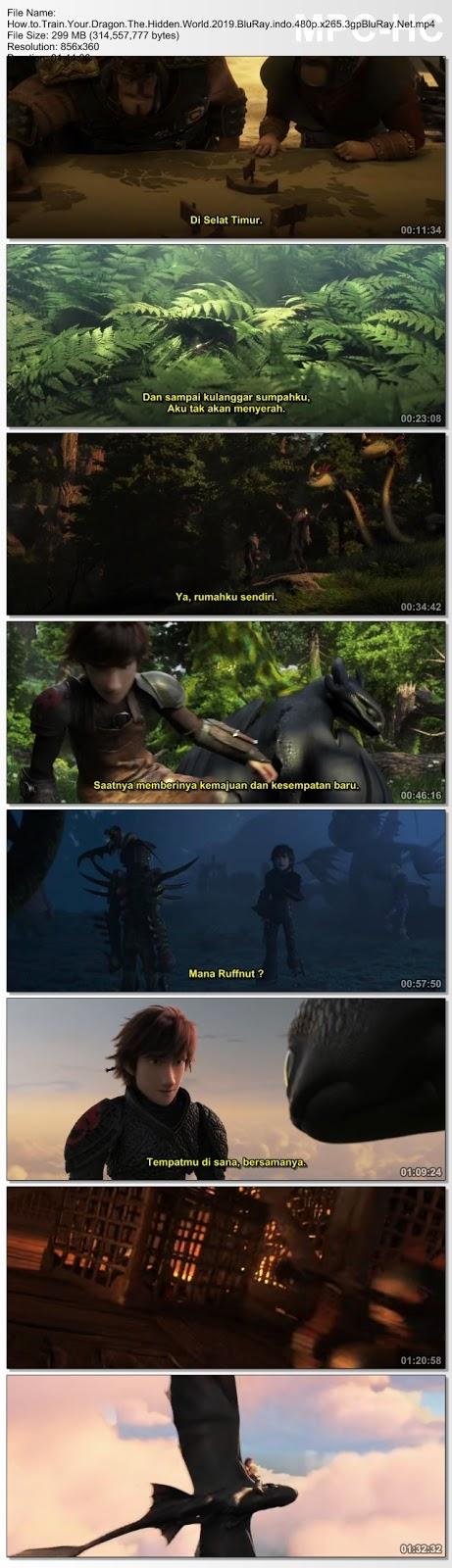 Screenshots Download Как приручить дракона 3 (2019)