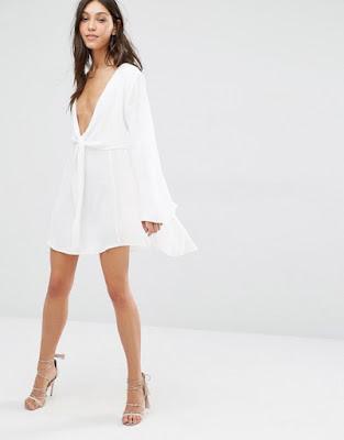 imagenes de Vestidos de Blancos de Noche