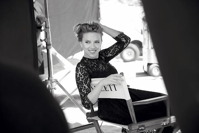 Scarlett Johansson para el perfume Dolce & Gabbana The one