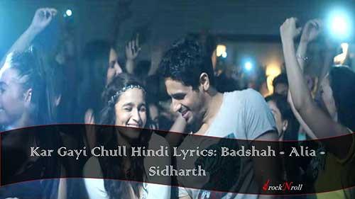 Kar-Gayi-Chull-Hindi-Lyrics-Badshah