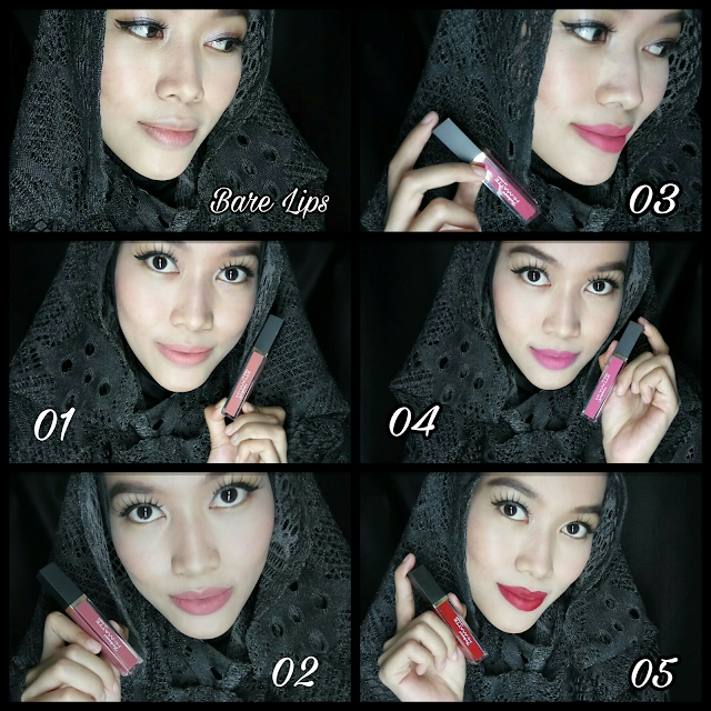 Purbasari Lip Cream all shade